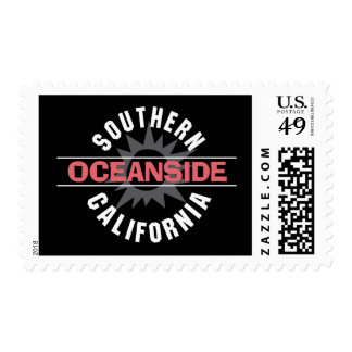 Southern California - Oceanside Stamp