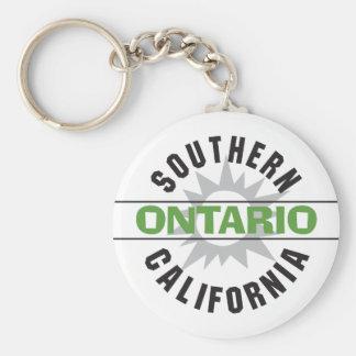 Southern California - Ontario Key Chains