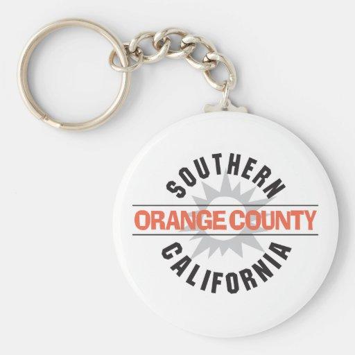 Southern California - Orange County Keychain