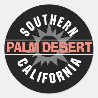 Southern California - Palm Desert Classic Round Sticker