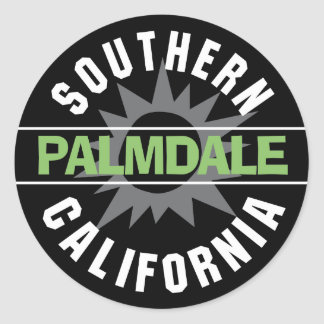 Southern California - Palmdale Classic Round Sticker