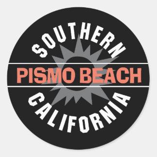 Southern California - Pismo Beach Classic Round Sticker