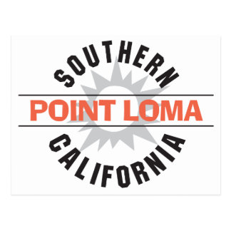 Southern California - Point Loma Postcard