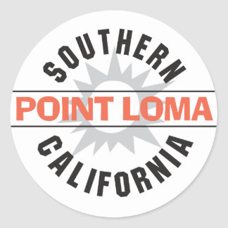 Southern California - Point Loma Stickers