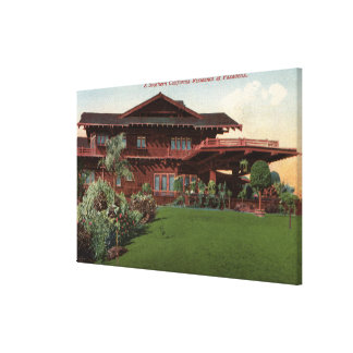 Southern California Residence Gallery Wrapped Canvas