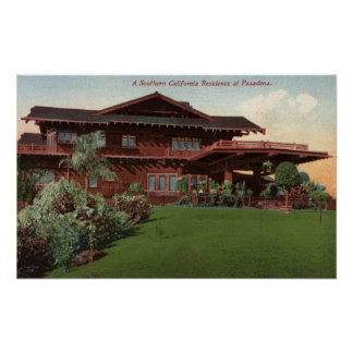 Southern California Residence Poster
