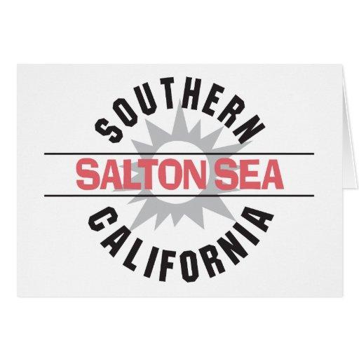 Southern California - Salton Sea Greeting Card