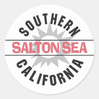 Southern California - Salton Sea Classic Round Sticker