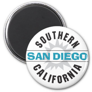 Southern California - San Diego 2 Inch Round Magnet