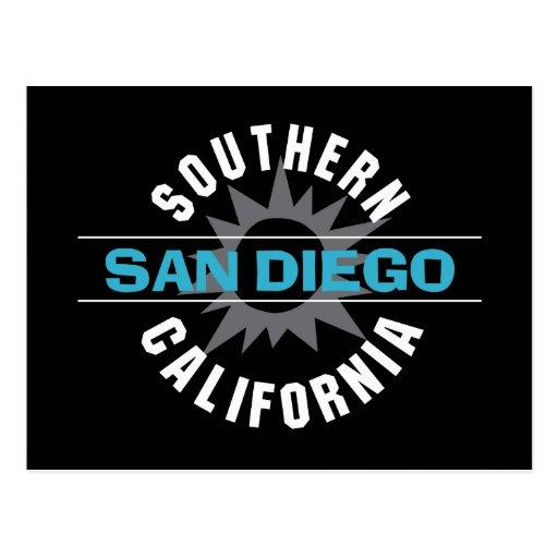 Southern California - San Diego Postcard
