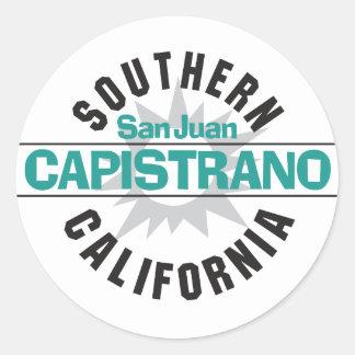 Southern California - San Juan Capistrano Classic Round Sticker