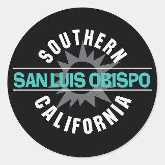 Southern California - San Luis Obispo Classic Round Sticker