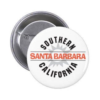 Southern California - Santa Barbara Button