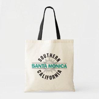 Southern California - Santa Monica Budget Tote Bag