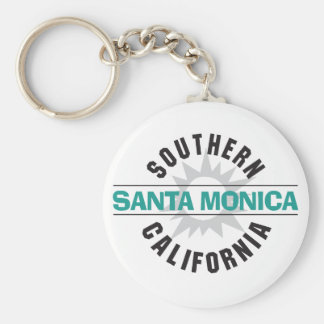 Southern California - Santa Monica Keychain