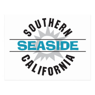 Southern California - Seaside Postcard