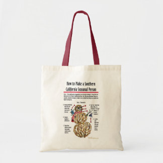 Southern California Seasonal Person Bag