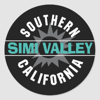 Southern California - Simi Valley Classic Round Sticker