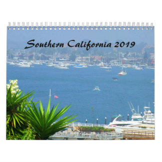 Southern California SOCAL 2019 Calendar