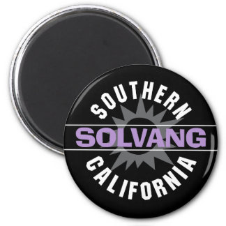 Southern California - Solvang 2 Inch Round Magnet