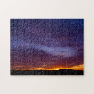 Southern California Sunset Jigsaw Puzzle