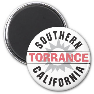 Southern California - Torrance 2 Inch Round Magnet