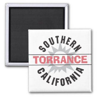Southern California - Torrance 2 Inch Square Magnet