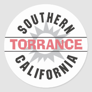 Southern California - Torrance Classic Round Sticker