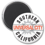 Southern California - Universal City 2 Inch Round Magnet