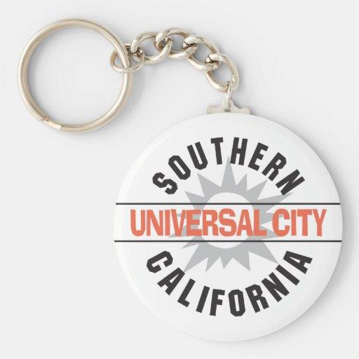 Southern California - Universal City Key Chains