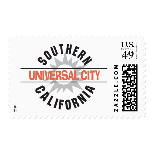 Southern California - Universal City Stamp