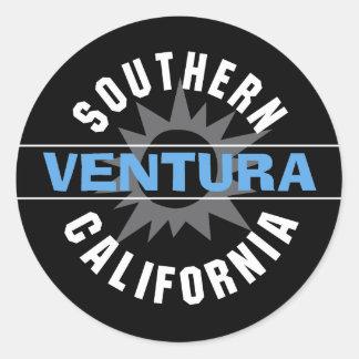 Southern California - Ventura Classic Round Sticker