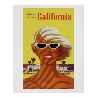 Southern California (Vintage Ads) Poster