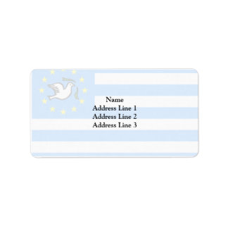 Southern Cameroons, Cameroon flag Address Label