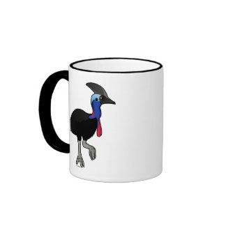 Southern Cassowary Ringer Mug
