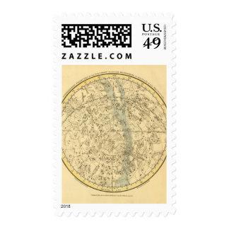 Southern Celestial Hemisphere Postage Stamp