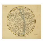 Southern Celestial Hemisphere Poster