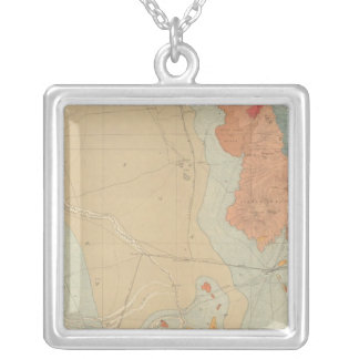 Southern Central Colorado and Part of New Mexico Silver Plated Necklace
