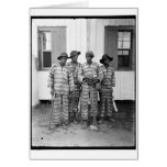 Southern chain gang 1900-1906 greeting card