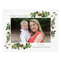 Southern Charm | Holiday Photo Postcard