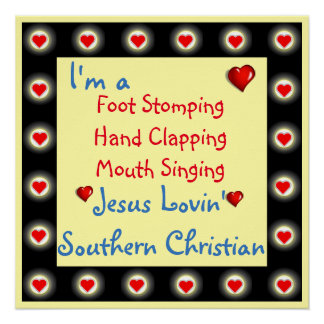 Southern Christian Poster