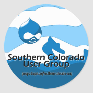 Southern Colorado User Group Round Stickers