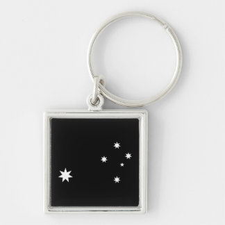 Southern Cross and Commonwealth Star Keychain