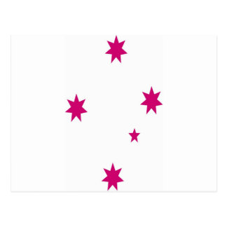 Southern Cross Pink Postcard