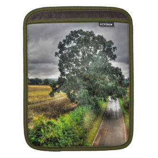 Southern England Woodland Pastures Nature Scene Sleeve For iPads