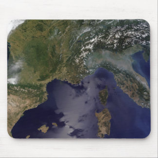 Southern France and Northern Italy Mouse Pads