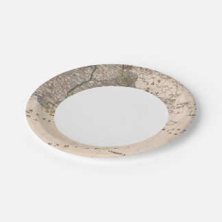Southern France Paper Plate