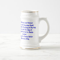 Southern Friends Last Forever Beer Stein