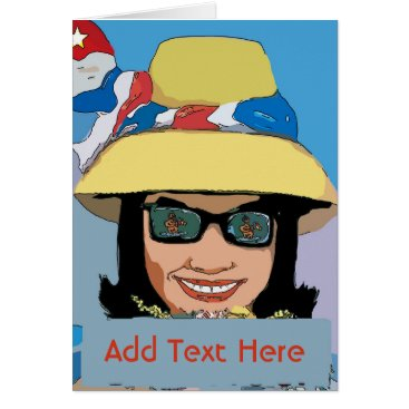 Southern Gal, add text Card