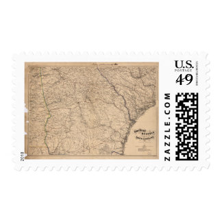 Southern Georgia and part of South Carolina (1865) Postage Stamp